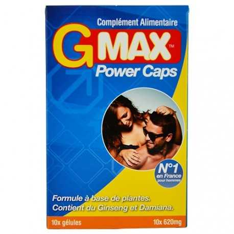 GMAX power caps 10 gélules