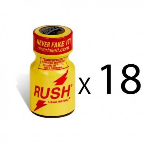 Lot de Poppers Rush Original par 18 flacons