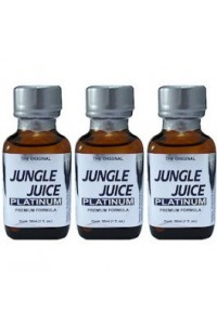 Poppers Jungle Juice Platinum  par 3 flacons