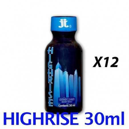 Pack de 12 poppers HIGHRISE 30 ml JJ locker room