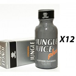 Lot de 12 poppers Jungle Juice PLUS 30 mL